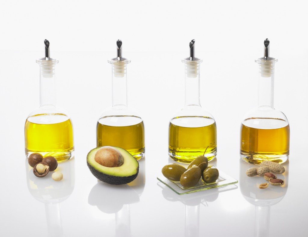 different plant oils